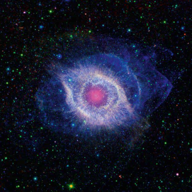 Der Helix-Nebel im Sternbild Aquarius (Wassermann)