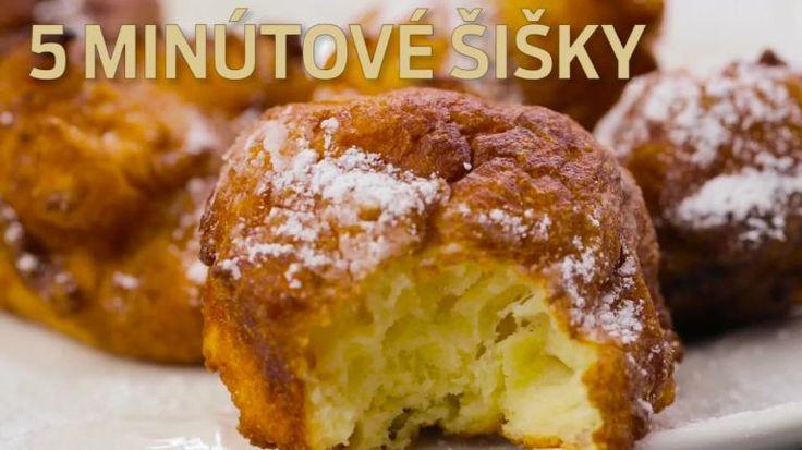 Blesková a jednoduchá dobrota za päť minút: Chrumkavé sladké šišky máte hotové skôr, než sa nazdáte | Tivi.sk