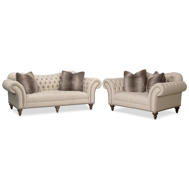 Tremendous Brittney Sofa And Loveseat Set House Things Sofa Creativecarmelina Interior Chair Design Creativecarmelinacom