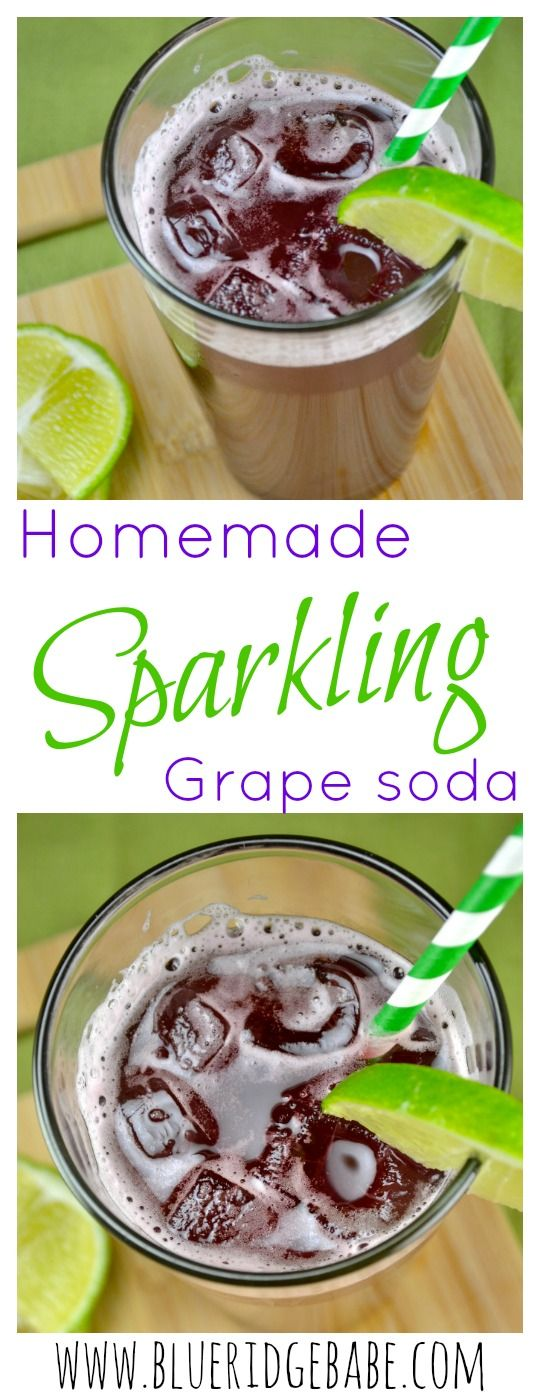 Homemade healthier alternative to soda (only 4 ingredients!)