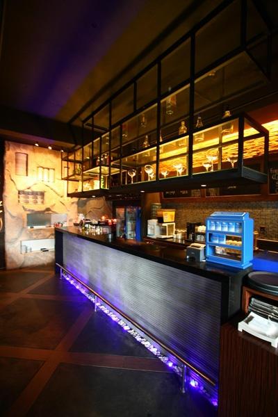 Planet Noodle bar In Lippo Karawaci, Jakarta designed by Vivianne Faye