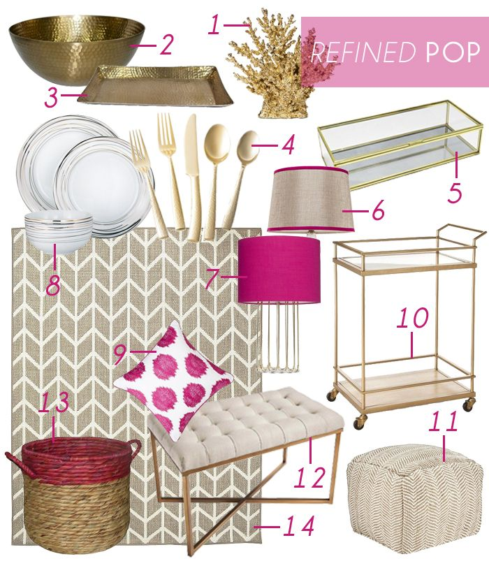 Get Ready For Spring With Emily Hendersonu0027s Home Decor Picks From Targetu0027s  Home Look Book.
