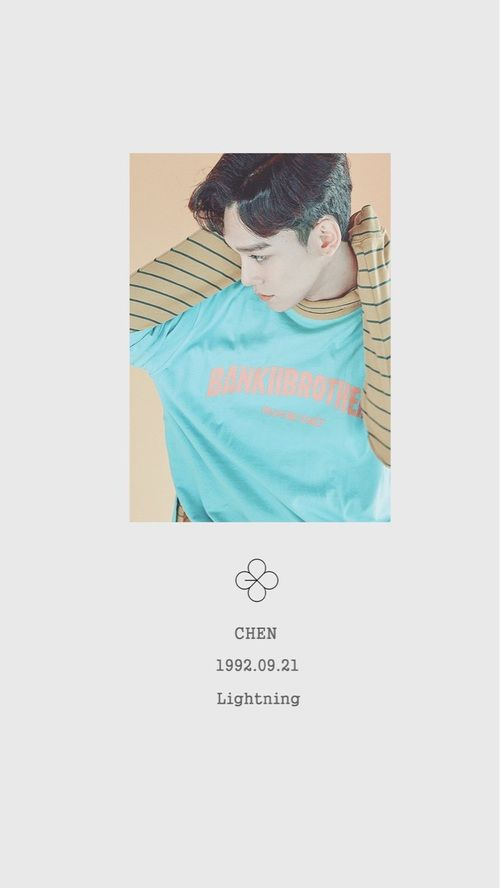 Lucky One 첸 / Chen - 김종대 / Kim JongDae EXO | Baekhyun | Chanyeol | D.O | Kai | Sehun | Lay | Suho | Xiumin | Luhan | Kris | Tao
