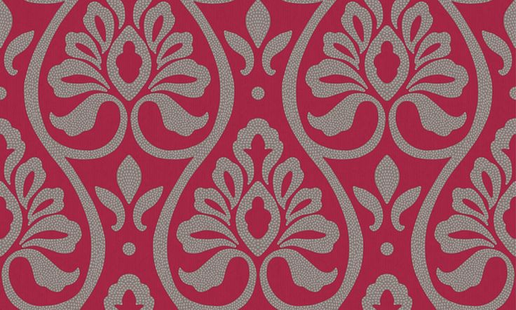Debussy Red wallpaper by Arthouse