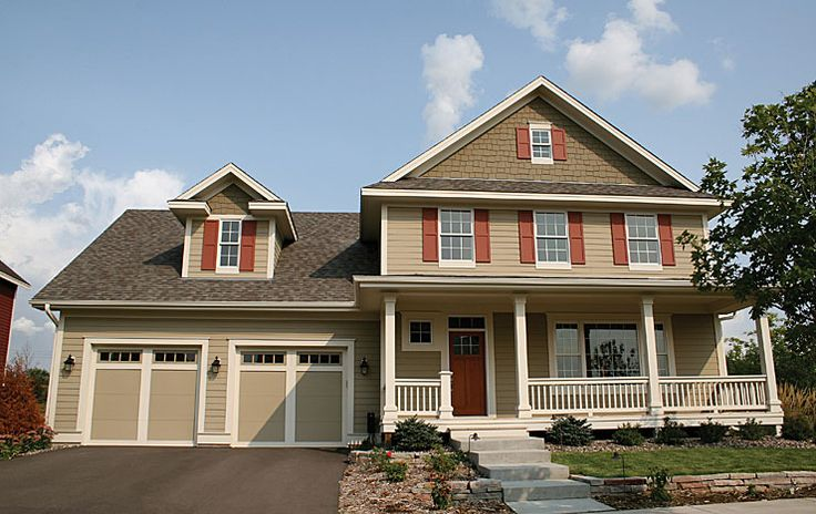 James Hardie Siding Products Curb Appeal Paint Color