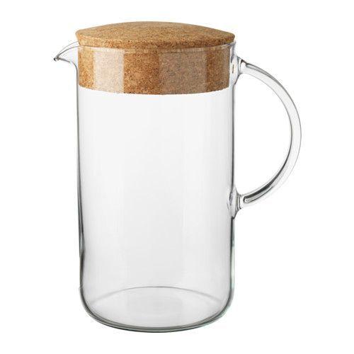 IKEA - IKEA 365+, Mugge med lokk, Kan også brukes til varme drikker.
