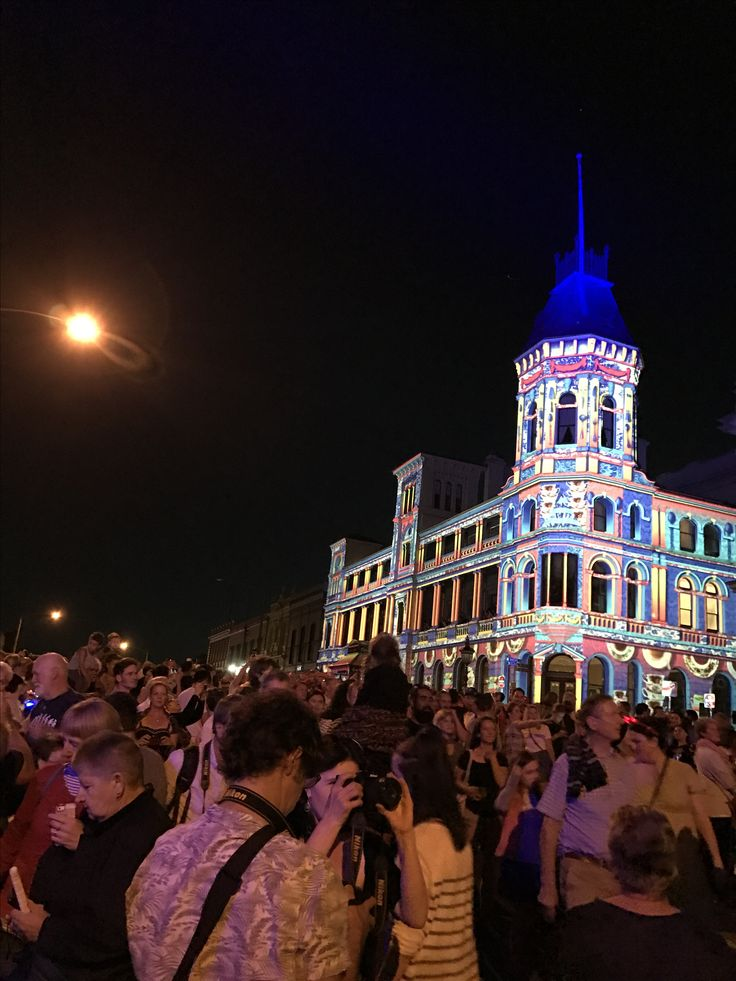 White night Ballarat