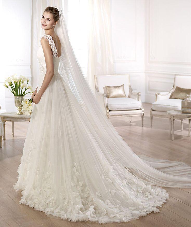 Pronovias Presents The Ondina Wedding Dress