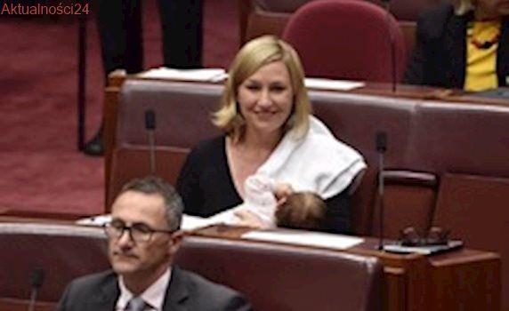 Australia: Historyczne karmienie piersią w parlamencie
