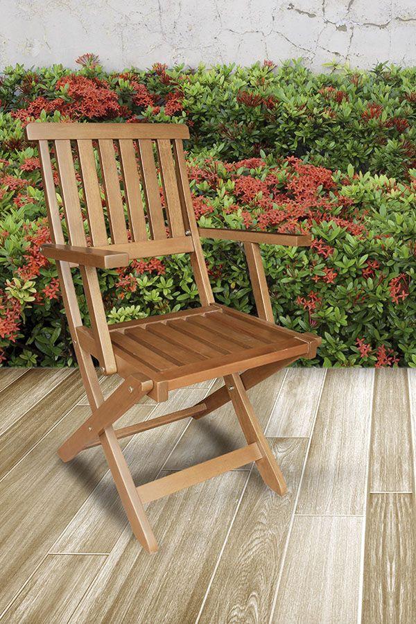 sillas jardín madera de acacia