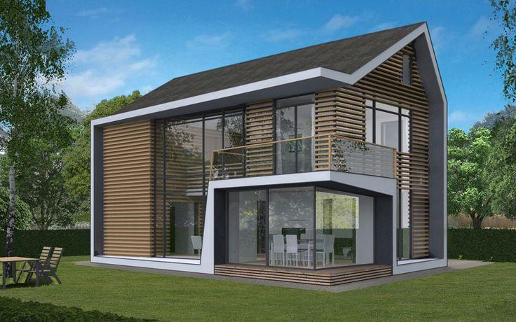 25 beste idee n over moderne architectuur woning op pinterest huisarchitectuur moderne for Eigentijdse buitenkant