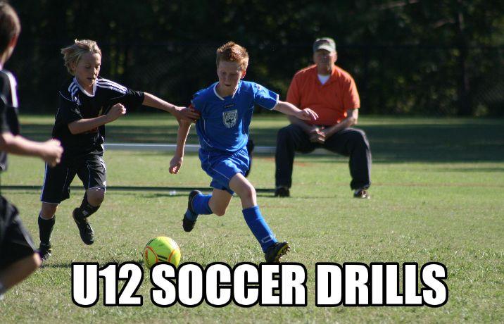 U12 Soccer Drills: http://soccerdrills4kids.com/u12-soccer-drills-2/