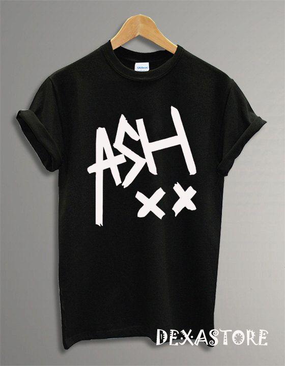 Hot Ashton Irwin Logo, 5SOS Shirt, 5 Second Of Summer Shirt, 5Sos Tshirt, 5Sos T Shirt, 5Sos Tee, Shirt Black And White RF-33 on Etsy, $17.00