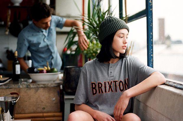 Beanie Fallen / T-shirt Brixton Photographer: Adrian Morris. facebook fan page Models: Théo de Gueltzl & Lydia Graham / Models 1 UK Lydia: Beanie Fallen / T-shirt Brixton...