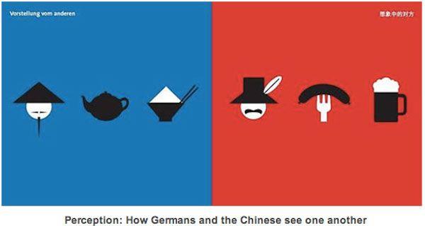 Arte vetorial mostra diferenças culturais entre ocidente e oriente | #Arte, #CulturaOcidental, #CulturaOriental, #Design, #EpochTimes, #ImagensVetoriais, #YangLiu