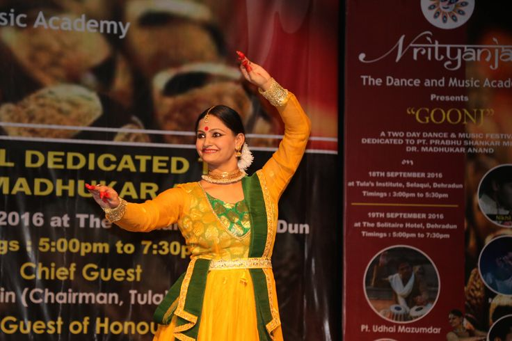 A fabolous performance in the campus of  Tula's Institute Engineering Colleges in Dehradun