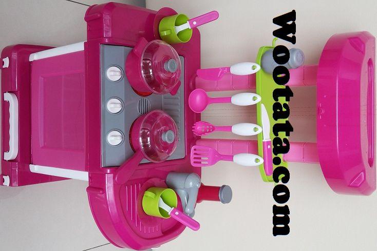 Mainan Kitchen Set Bentuk Koper Untuk Anak Perempuan
