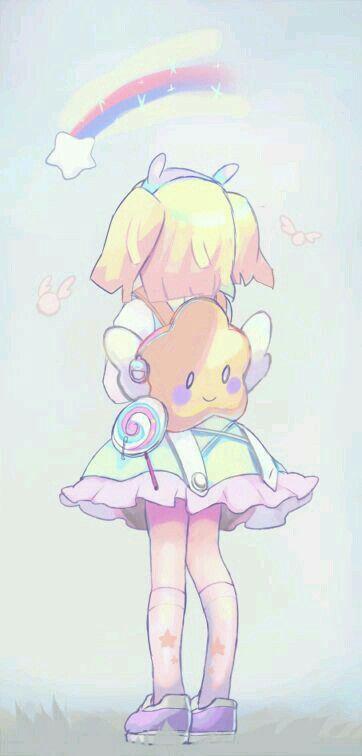 نتیجه تصویری برای anime cute girl singing png