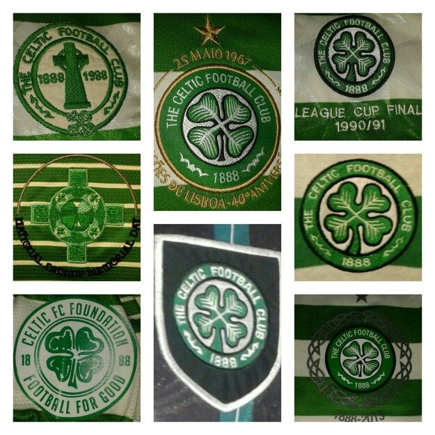 A collection of Celtic crest over the years.