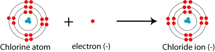 Chlorine has a high electronegativity of 3.16 so it has a higher chance of attracting electrons rather than losing them. This also means that it has a high ionization energy (12.968 eV) because the two energy calculations are proportional.