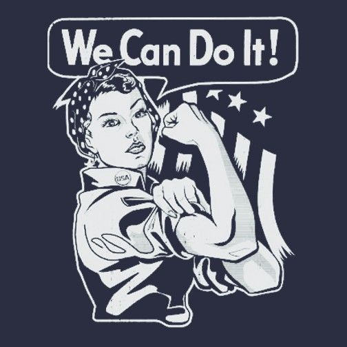 ROSIE THE RIVETER We Can Do It SHIRT  Vtg Style, Steampunk, Feminist MENS/WOMENS #ShortSleeve