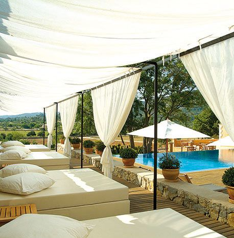 Son Brull Hotel & Spa. A former monastery on the northern side of the isle Mallorca. Spain, Pollença #relaischateaux #mallorca #organic #wellbeing