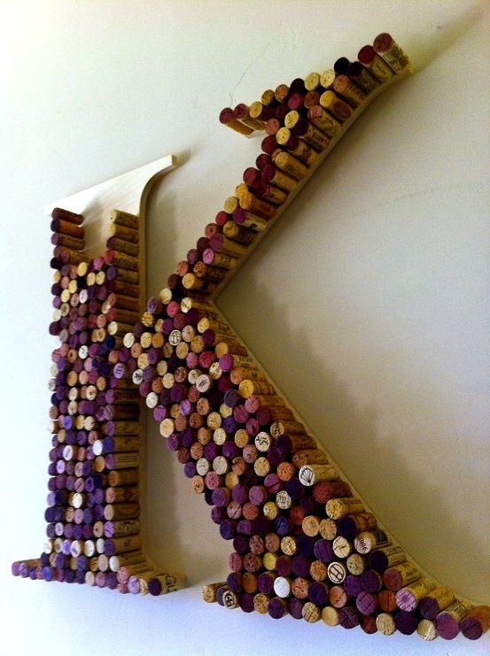 Start your own initial! Perfect for the kitchen or right near your wine rack!