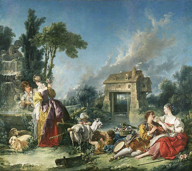Boucher, La fontaine d'amour