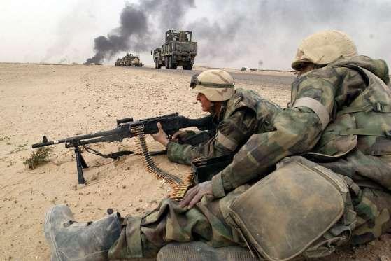 Guerra do Iraque (2003-2011) - US$ 2 trilhõesO conflito começou em 2003, com a invasão do Iraque por... - (Getty Images)