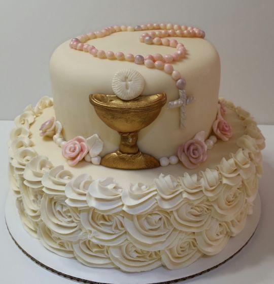 Znalezione obrazy dla zapytania torty komunijne dla dziewczynek