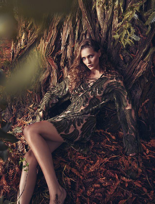 Trelise Cooper Roger Featherer tunic in Fashion Quarterly magazine