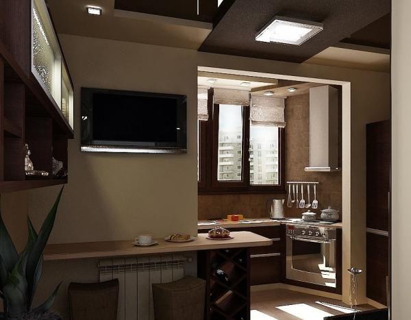 Идеи дизайна: 20 оригинальных вариантов для кухни с балконом http://joinfo.ua/leisure/myhouse/1174805_Idei-dizayna-20-originalnih-variantov-kuhni.html