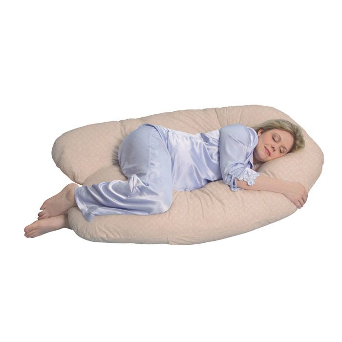 Leachco Back 'N Belly Chic Contoured Pregnancy Body Pillow