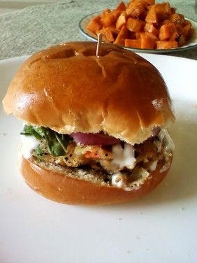 Veggie Burger Recipe Food Dinner