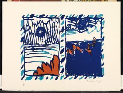 Les 538 meilleures images du tableau alechinsky sur pinterest for Alechinsky lithographie