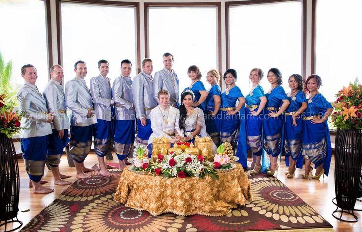 Apsara Diamant Bridal & Photo - Long Beach, CA, United States. Beautiful Traditional Khmer Wedding