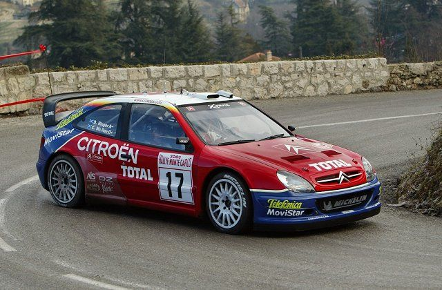 Citroen Xsara WRC 2003 - Colin McRae Montecarlo