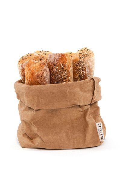Uashmama Paper Bag - Brown - Medium | Would pina work with this?