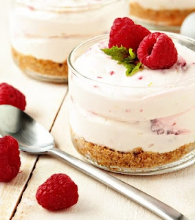 shot parfaits recipe king arthur flour layered parfaits presented in ...