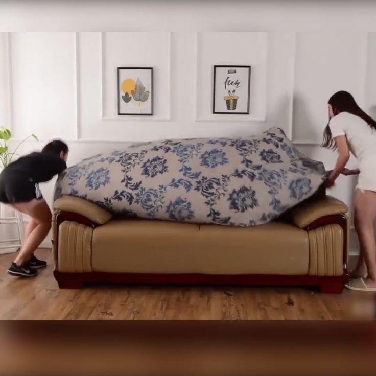Repurposed Home Decor: Repurpose The Couch You Already Love [Video] In 2020