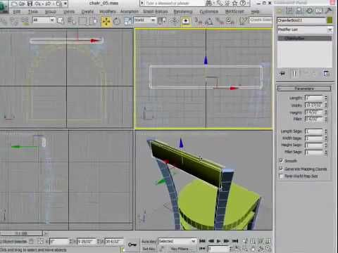 how to use the shell tool on 3ds max