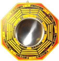 Deze Feng-Shui spiegel is een must have voor alle Feng-Shui buffs die er zijn. Spiegels zijn middelen ter verbetering van de Feng Shui.