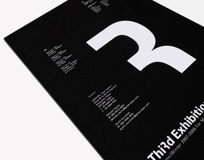 14 best exhibition invite ideas images on pinterest editorial studio newwork was assigned to design autumn winter third exhibition invitation for 4 nation showroom number 3 is transformed into letter x print on stopboris Gallery
