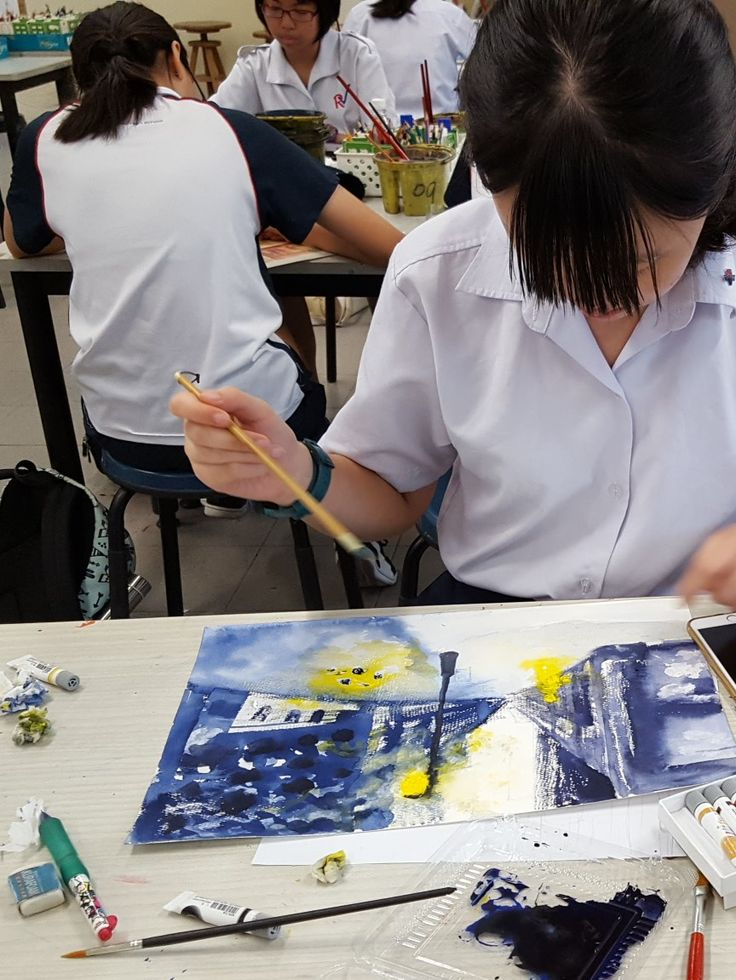 Water-colour Painting @ River Valley High