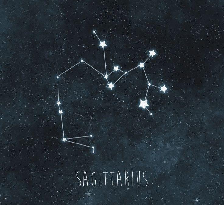 Constellation Sagittarius The Archer Star Cluster By Futureastronomy Com Constellations Art Print Constellation Art Sagittarius Constellation