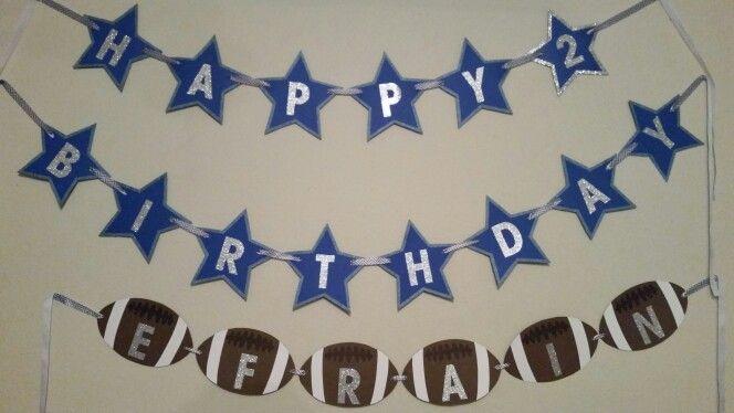 Cowboy Birthday Birthday Banners And Dallas Cowboys On