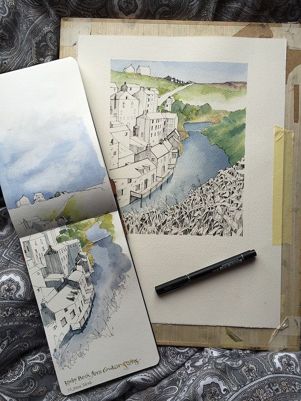 From sketch to painting | by John Harrison, artist