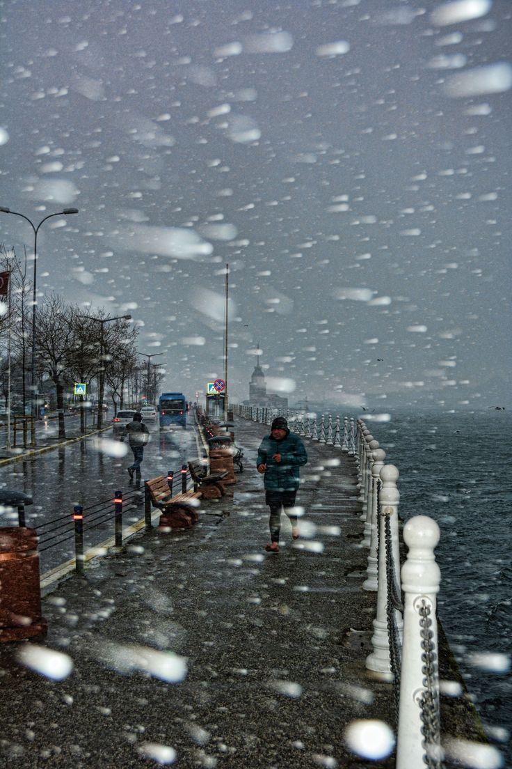 Istanbul in snow..by Yaşar Koç