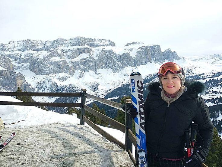Ready for a super skiing Sunday! Pronta per una super