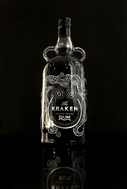 The kraken rum redesign by cedrik ferrer via behance pd - Kraken rum pictures ...